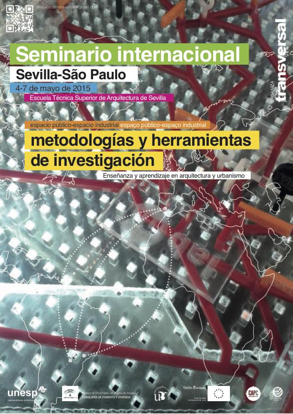 Cartel seminario Sevilla-Sao Paulo